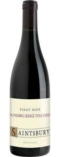 Saintsbury Pinot Noir Sundawg Ridge Vineyard 2014 750ml